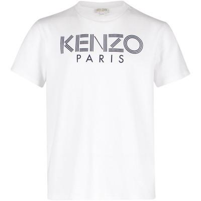 Afbeelding van Kenzo KN10658 kinder t-shirt wit