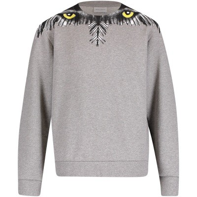 Picture of Marcelo Burlon 18IBMB20350020B050 kids sweater grey