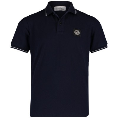 Picture of Stone Island 701621348 kids polo shirt navy