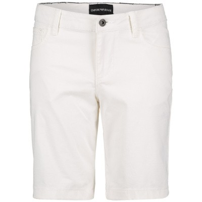 Picture of Armani 8N4S01 kids shorts white