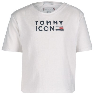 Picture of Tommy Hilfiger KG0KG04392 B baby shirt white