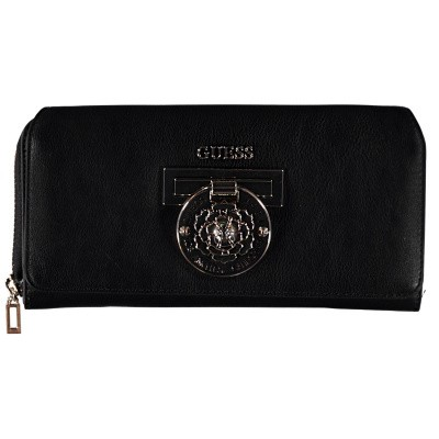 Picture of Guess SWVG7177620 womens wallet black