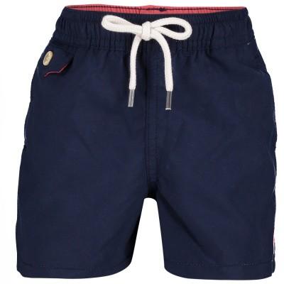Picture of Ralph Lauren 712246B baby swimwear navy