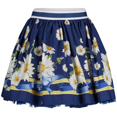 Picture of MonnaLisa 113701 kids skirt blue