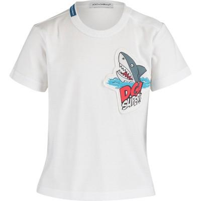 Afbeelding van Dolce & Gabbana L1JT6S G7QXE baby t-shirt wit