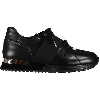 Afbeelding van Mallet ALMORAH 1.0 heren sneakers zwart