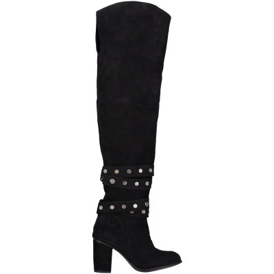 Picture of Nikkie N93291804 womens boots black
