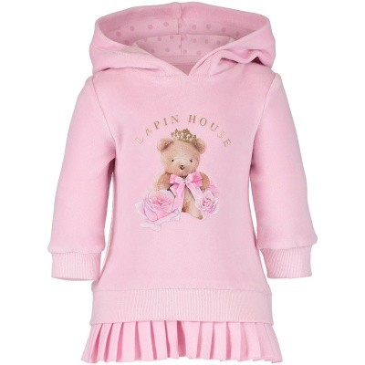 Afbeelding van Lapin 82E3255 babyjurkje licht roze