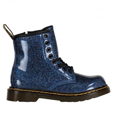 Picture of Dr. Martens 24088400 kids boots blue
