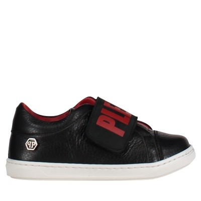 Picture of Philipp Plein ASC0003 kids sneakers red