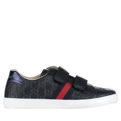 Afbeelding van Gucci 455496 DF720 kindersneakers navy