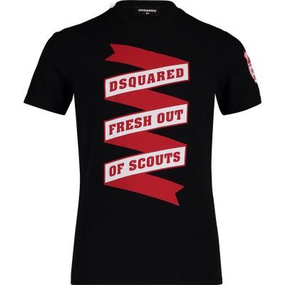 Afbeelding van Dsquared2 DQ039Z kinder t-shirt zwart