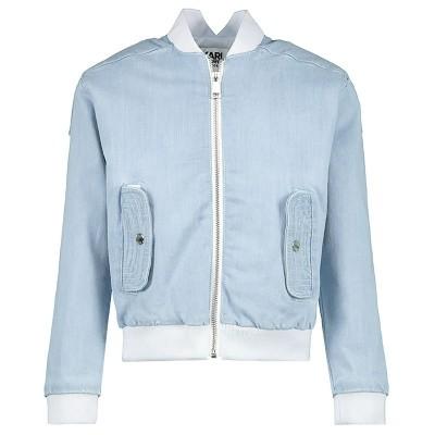 Picture of Karl Lagerfeld Z16061 kids jacket jeans