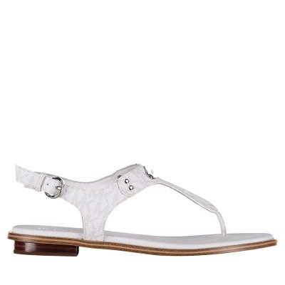 Picture of Michael Kors 40R7PLFA1B womens sandals white