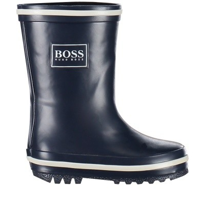 Picture of Boss J09103 kids boots navy