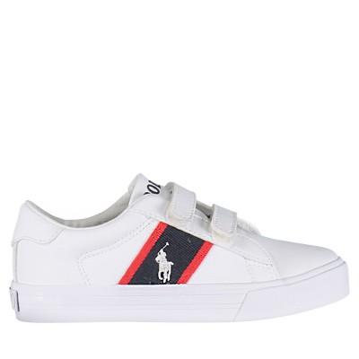 Afbeelding van Ralph Lauren RF101080 kindersneakers wit