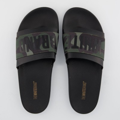 Afbeelding van The White Brand M0105 heren slippers army