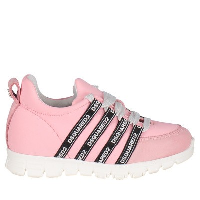Picture of Dsquared2 59691 kids sneakers light pink