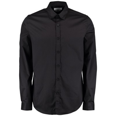 Picture of Pure White 19010216 mens blouse black