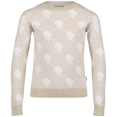 Picture of Reinders VES19G946B kids sweater light beige