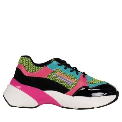 Afbeelding van Pinko 1H20LZ dames sneakers zwart