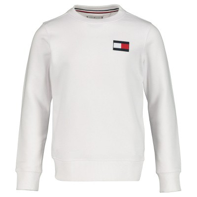 Picture of Tommy Hilfiger KS0KS00024 kids sweater white