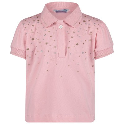 Picture of Mayoral 1108 baby poloshirt light pink