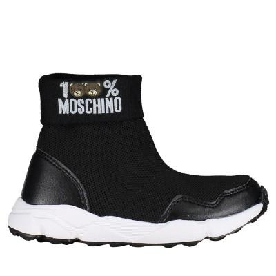 Afbeelding van Moschino 26274 kindersneakers zwart
