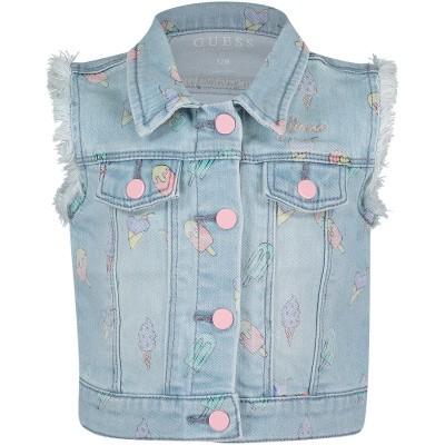 Afbeelding van Guess A92L01 babyjas jeans