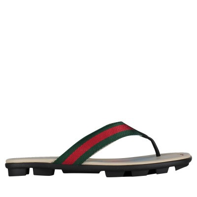 Picture of Gucci 505227 kids flipflops black