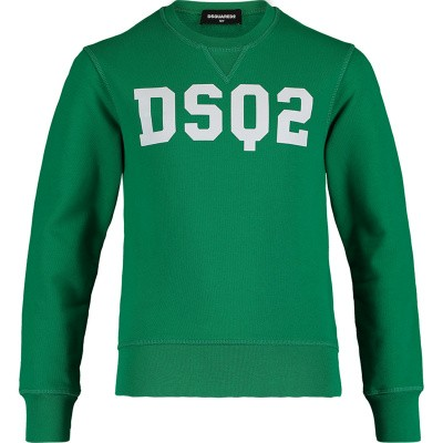 Picture of Dsquared2 DQ03AF kids sweater green