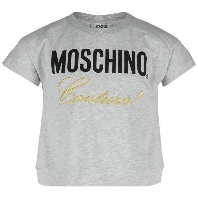 Afbeelding van Moschino HDM036 kinder t-shirt grijs