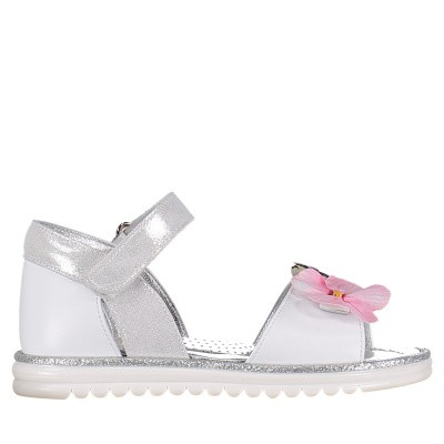 Picture of MonnaLisa 833030 kids sandals silver