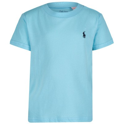 Picture of Ralph Lauren 703638B baby shirt turquoise