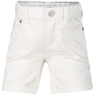Picture of Armani 8NHS01 baby shorts white