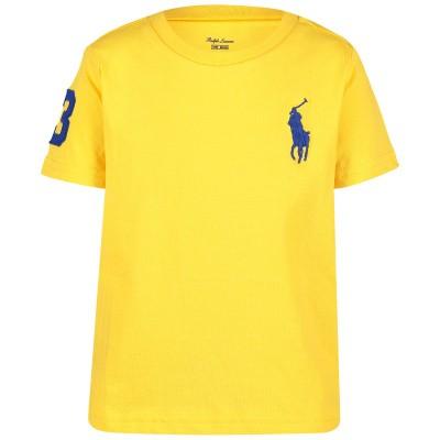 Picture of Ralph Lauren 703646B baby shirt yellow