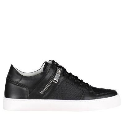 Picture of Antony Morato MMFW01118 mens sneakers black