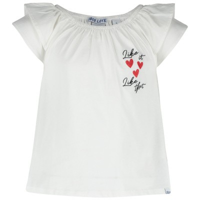 Afbeelding van NIK&NIK G8662 kinder t-shirt wit