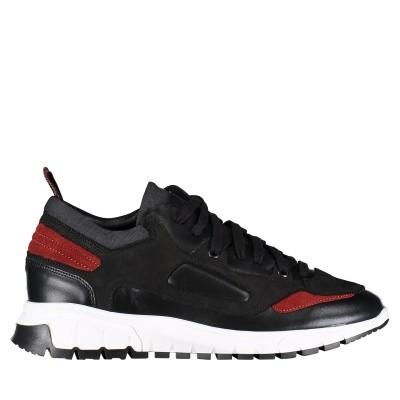 Afbeelding van Antony Morato MMFW01046 heren sneakers zwart