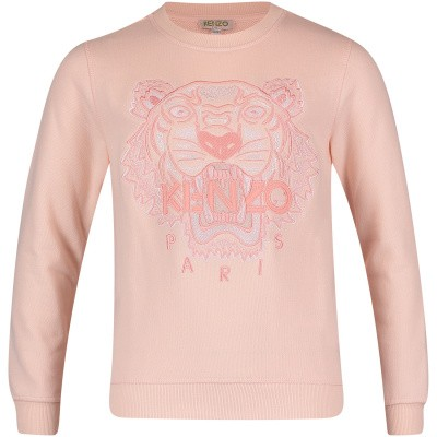 Picture of Kenzo KN15128 baby sweater light pink