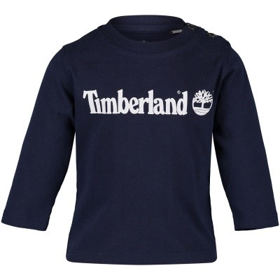 Picture of Timberland T05Z01 baby shirt navy