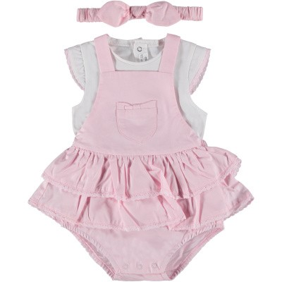 Picture of Mayoral 1810 baby playsuit light pink