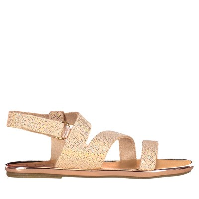 Picture of Babywalker PB0036 kids sandals gold