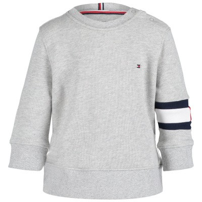 Picture of Tommy Hilfiger KB0KB04658 B baby sweater grey