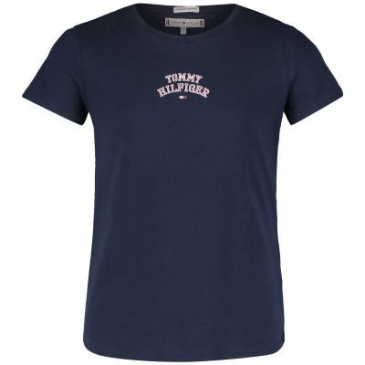 Afbeelding van Tommy Hilfiger KG0KG04192 kinder t-shirt navy