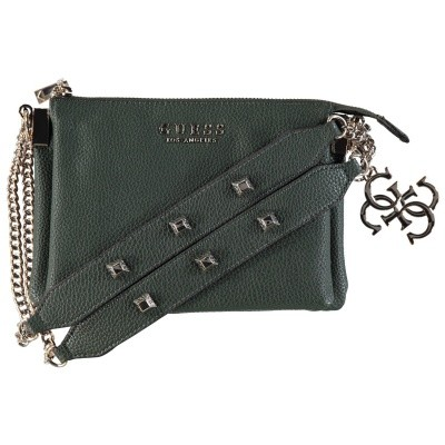 Picture of Guess HWVG7097140 womens bag dark green