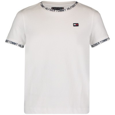 Picture of Tommy Hilfiger KB0KB04563 kids t-shirt white
