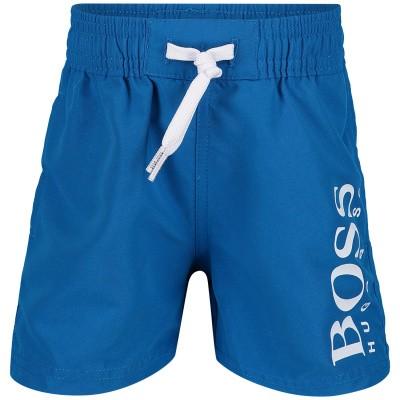 Picture of Boss J04325 baby swimwear cobalt blue