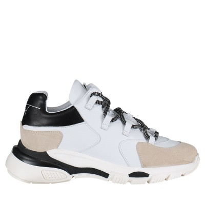 Afbeelding van Toral 11101E dames sneakers wit