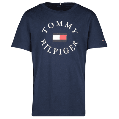Picture of Tommy Hilfiger KB0KB04676 kids t-shirt navy